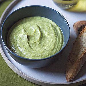 Pureed Broccoli-Leek Soup