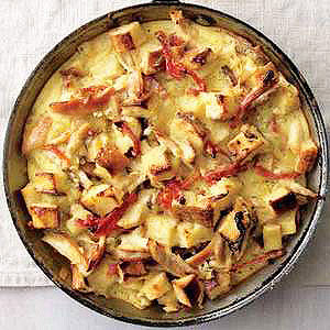 Chicken-Tomato Clafoutis