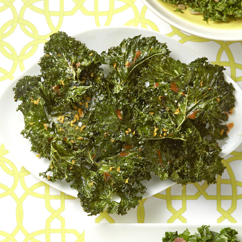 citrusy kale chips