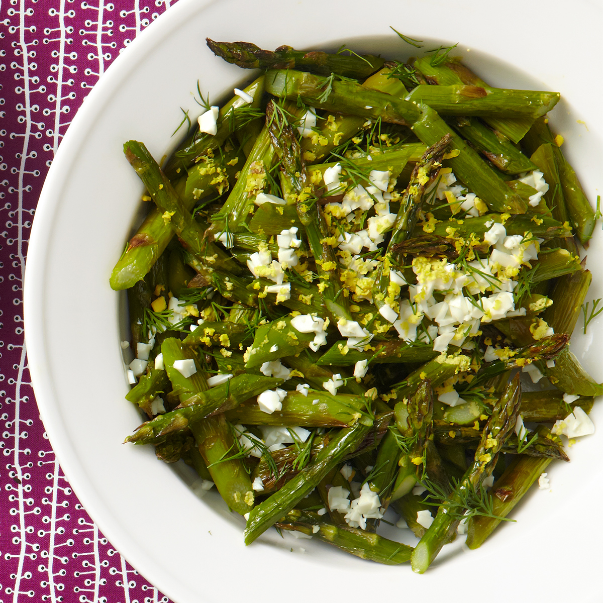 egg-cellent roasted asparagus
