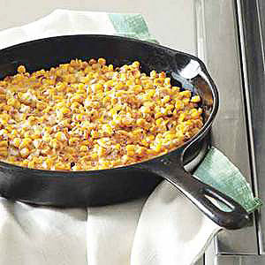 Grilled Creamed Corn