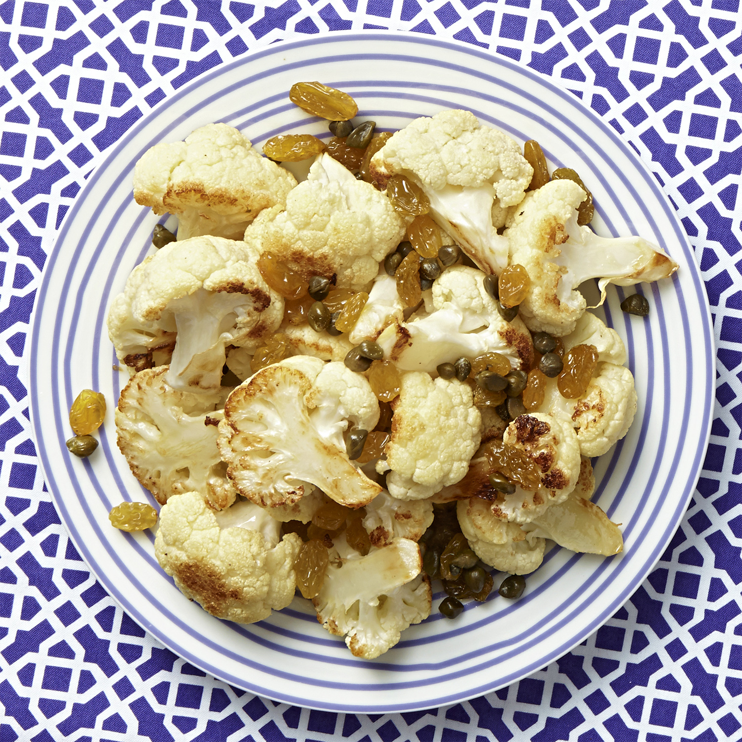sweet and tangy cauliflower