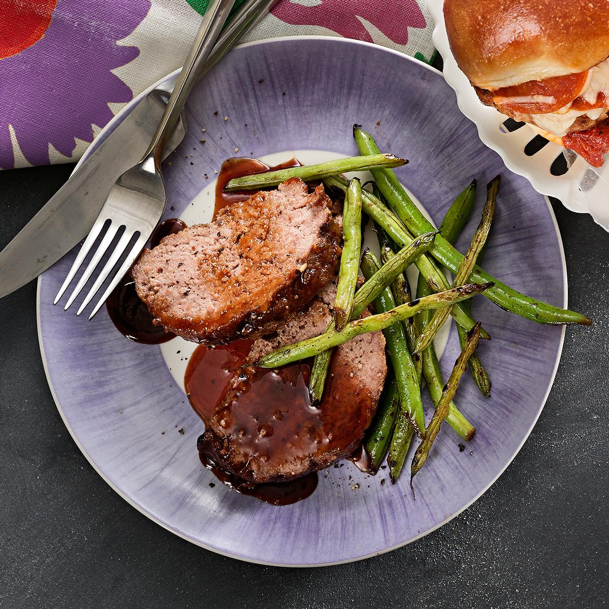 teriyaki meat loaf