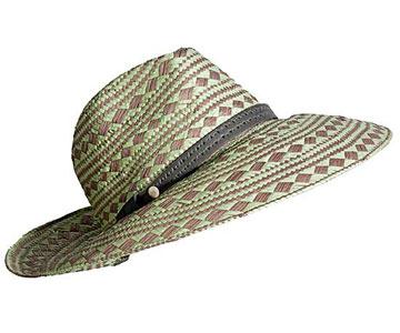 Patterned Sun Hat