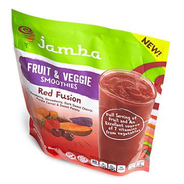 Jamba Red Fusion Fruit & Veggie Smoothies