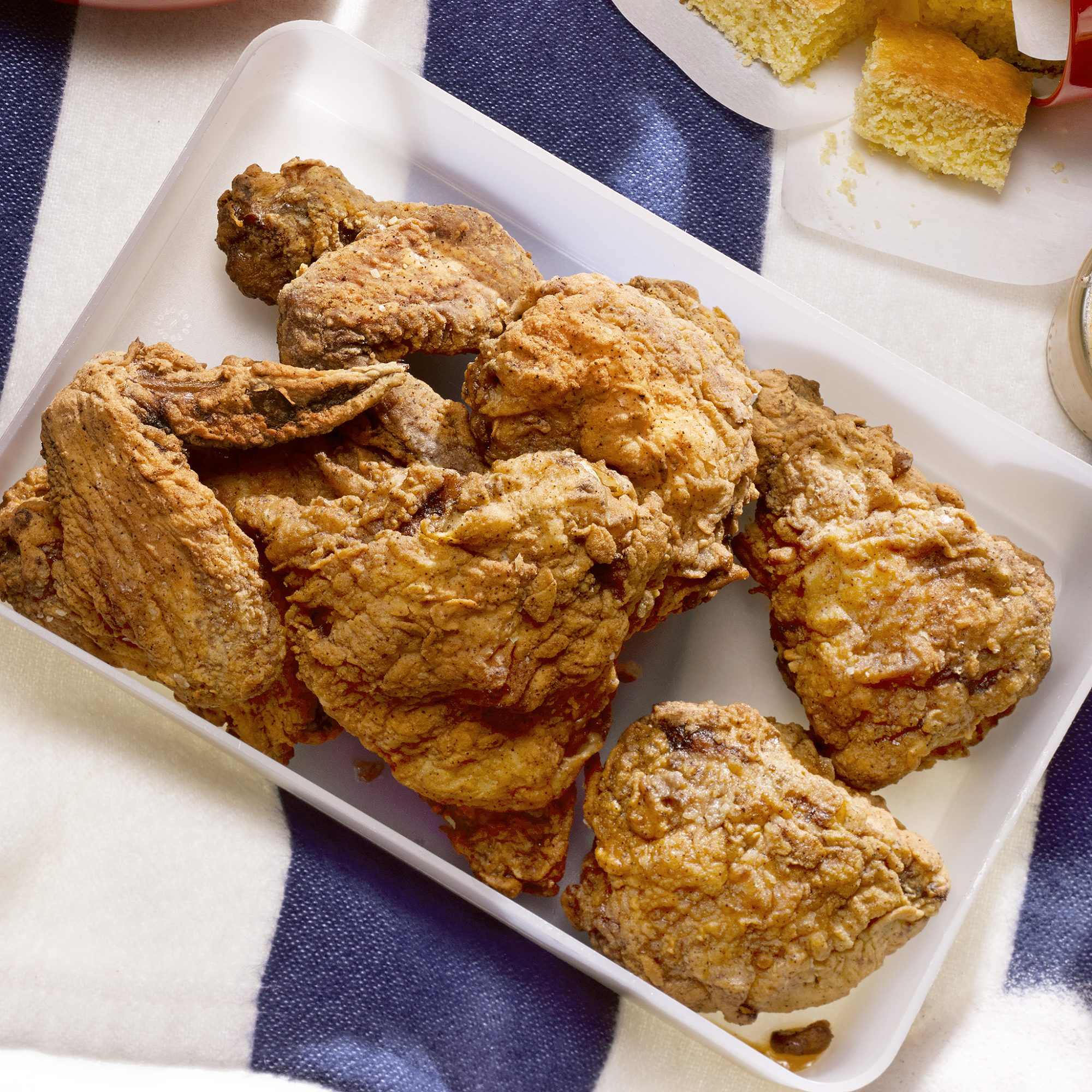 Do-Ahead Fried Chicken