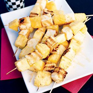 Yellow Flag Dessert Skewers