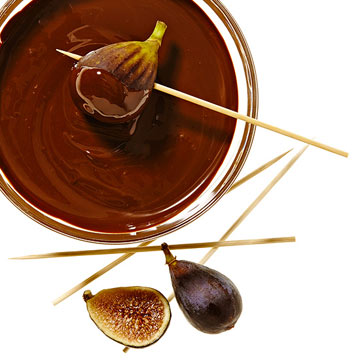 Chocolate Fig Fondue
