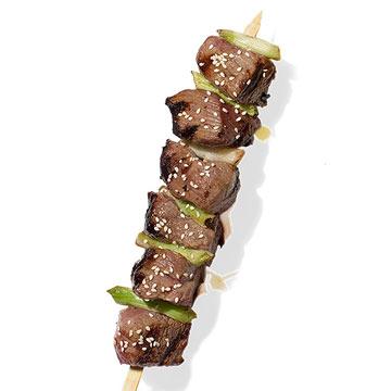 Lamb & Scallion Kebab