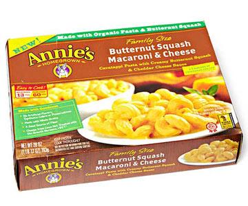 Annie's Family Size Frozen Entree Butternut Squash Macaroni & Cheese