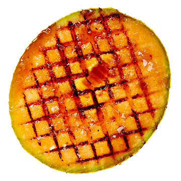 Grilled Cantaloupe Brulee