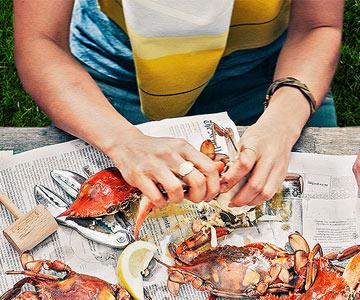 Carla Hall's Crab Boil