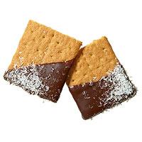 Chocolate-Dipped Grahams