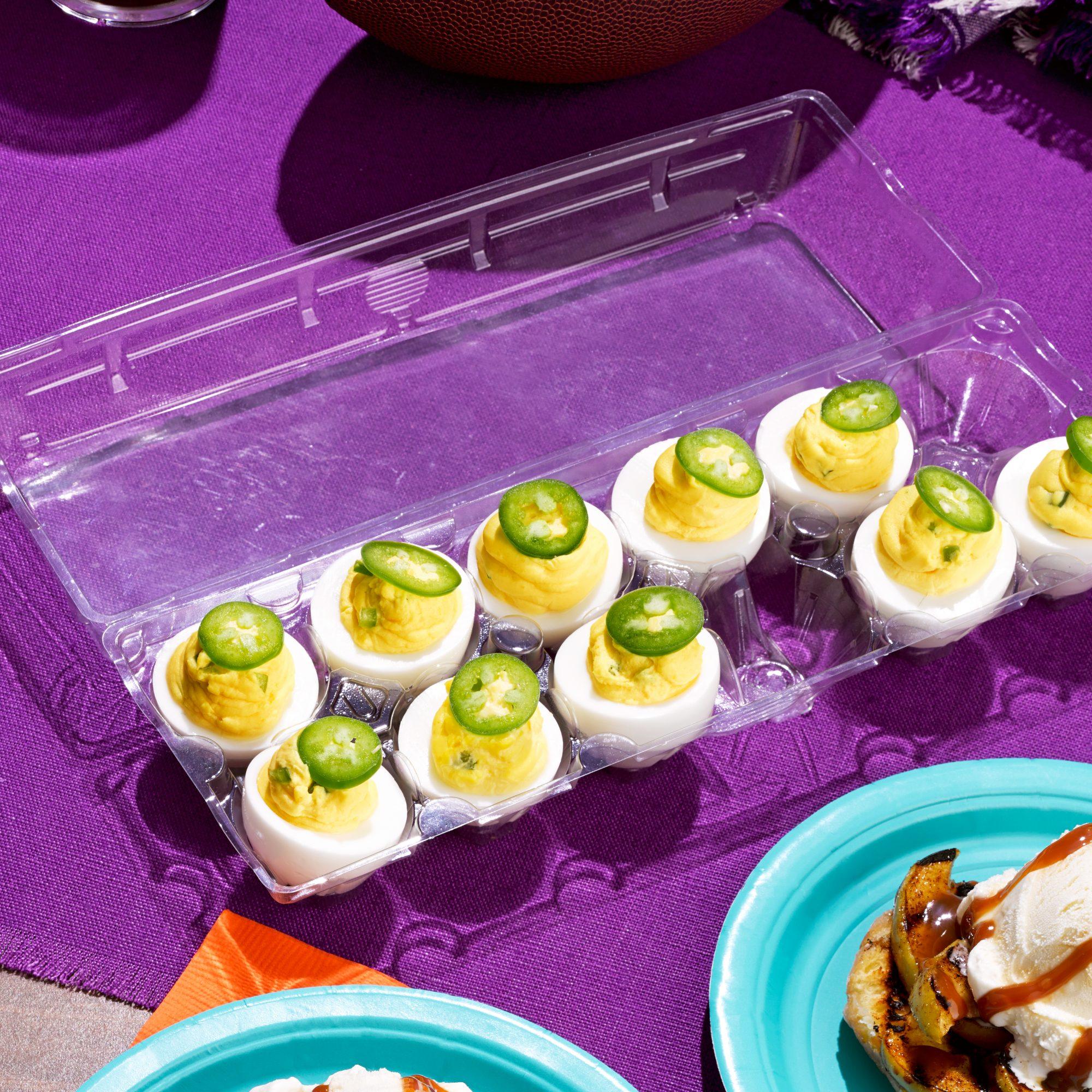 jalapeno popper deviled eggs