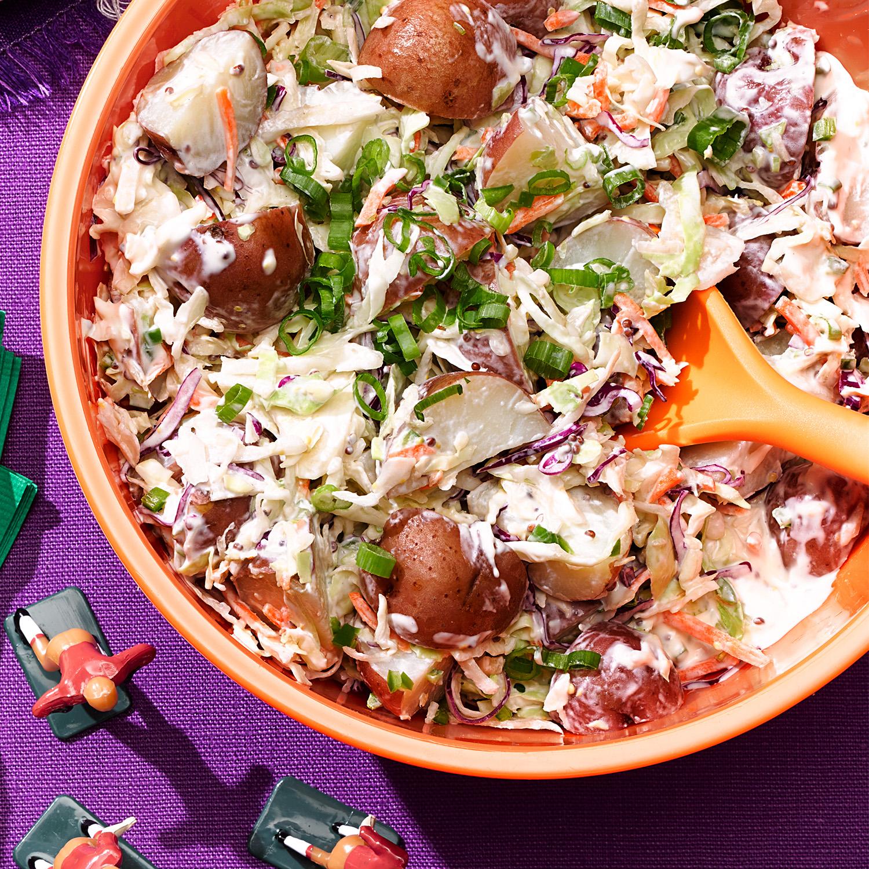 Potato Coleslaw