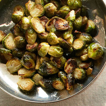 Lemon-Honey Roasted Brussels Sprouts