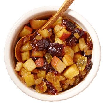 Sweet & Sour Apple Chutney