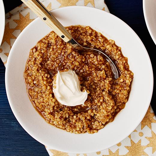 Oatmeal-Quinoa Bowl