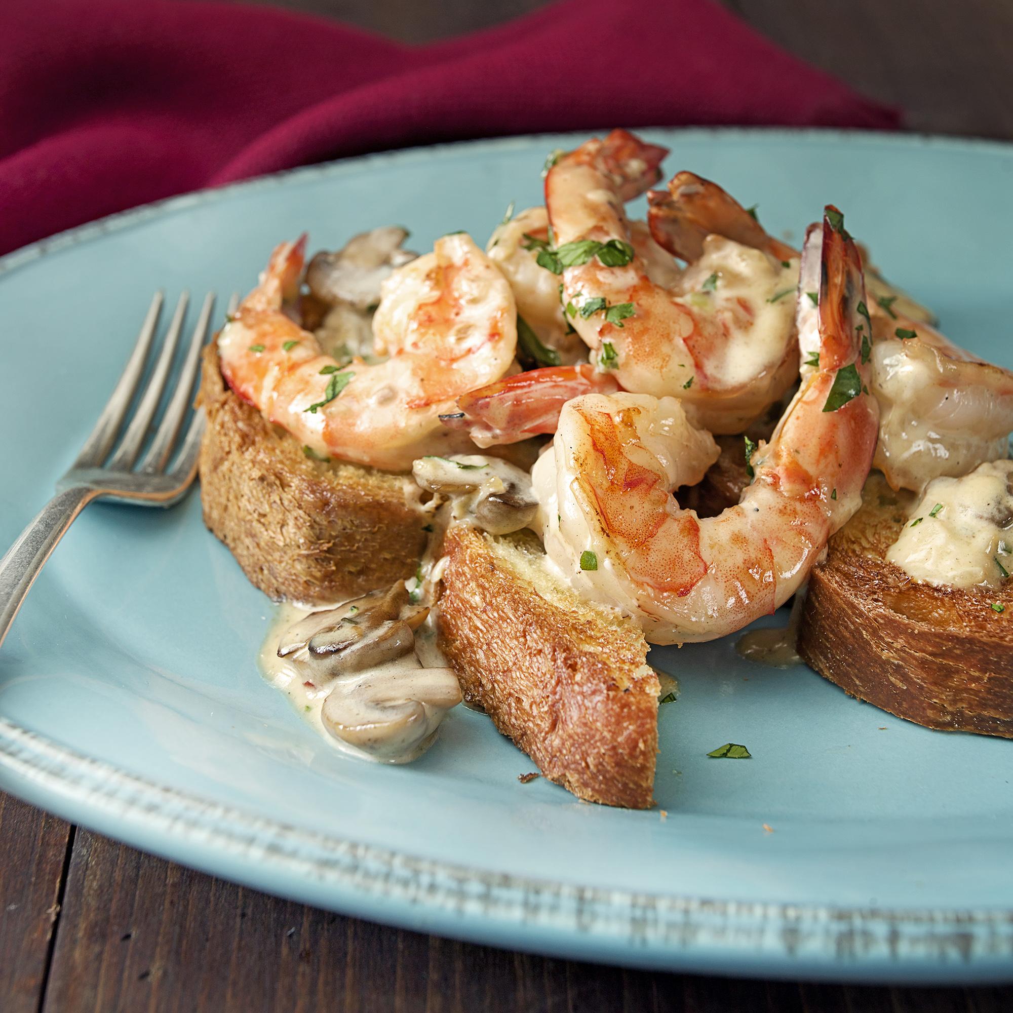 sherry cream shrimp
