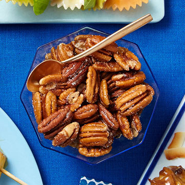 Microwave Spiced Pecans