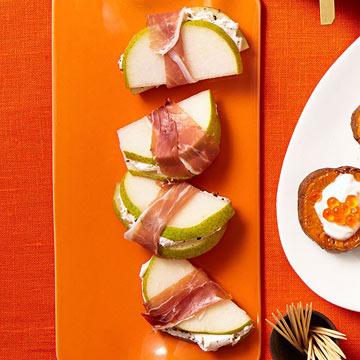 Prosciutto & Pear Wraps