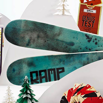 Cork Skis