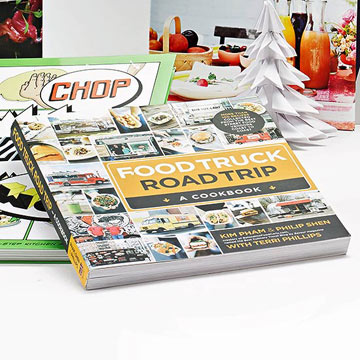 Food Truck Road Trip -- A Cookbook