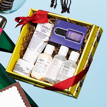 Kiehl's Limited Edition Norman Rockwell Holiday Set