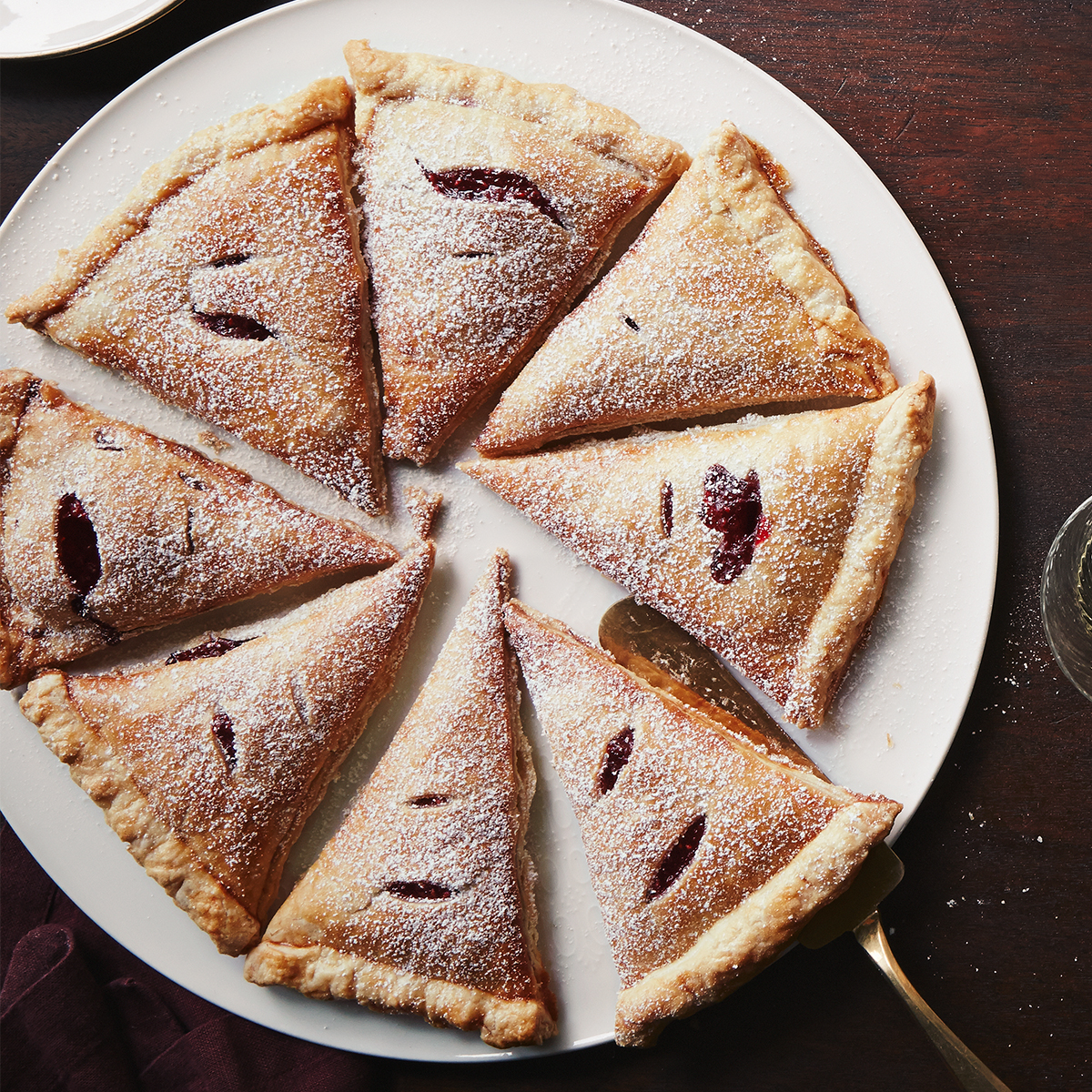 mixed-berry turnovers