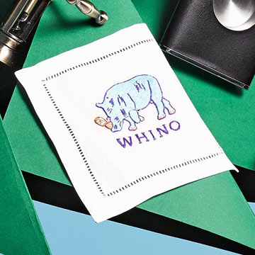 Whino Cocktail Napkins