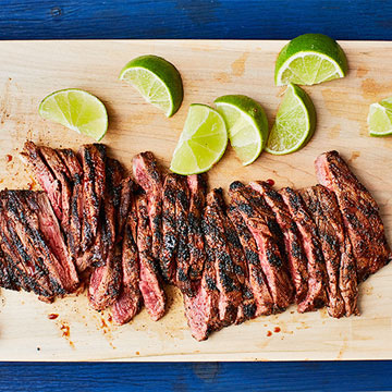 Chili Skirt Steak