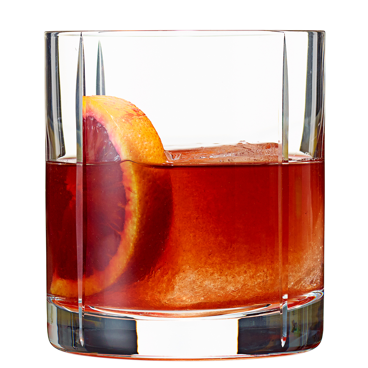 Blood-Orange Old-Fashioned