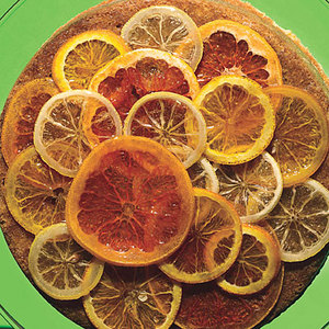 Buttermilk Cake with Candied Citrus