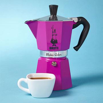 Moka Color Espresso Maker
