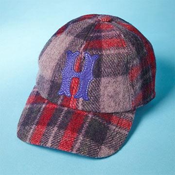 Wool Initial Baseball Cap