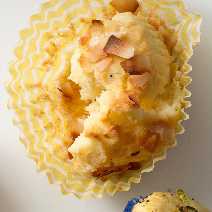 Lemon-Coconut Muffins