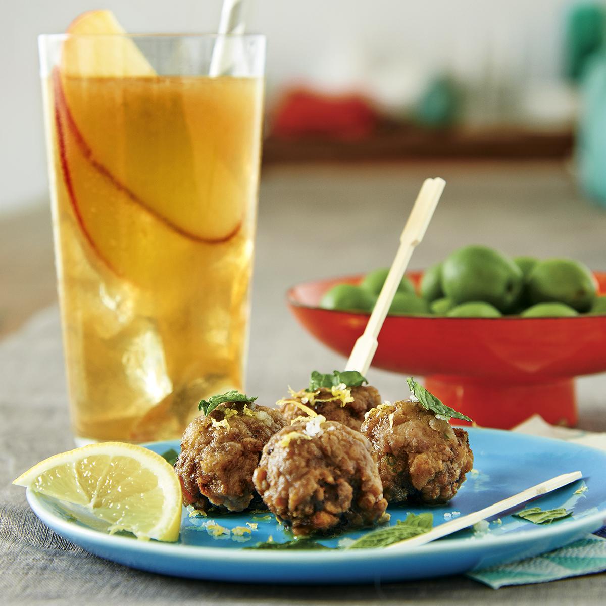 Michael Symon's Greek Meatballs