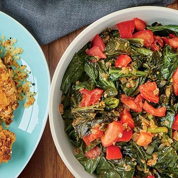 Sunny Anderson's Vegetarian Collards