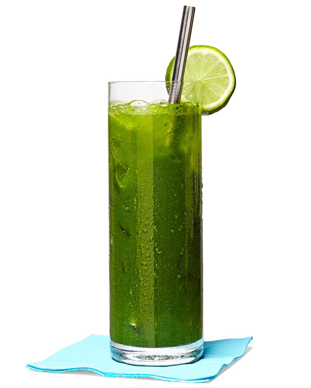 green garden mojito