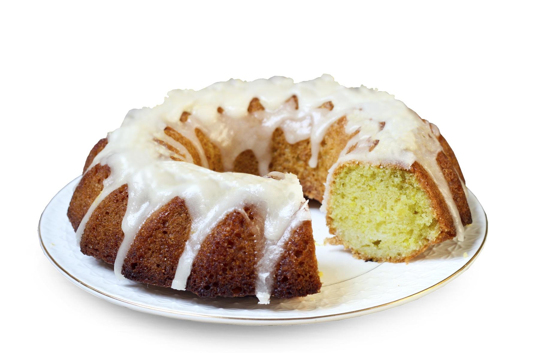Lemon drizzle bundt cake