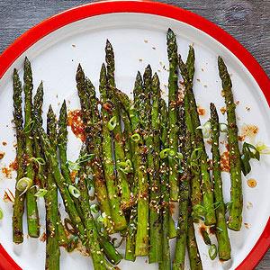 Sesame-Soy Grilled Asparagus