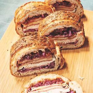 Rachaels Gigantic Reuben Loaf