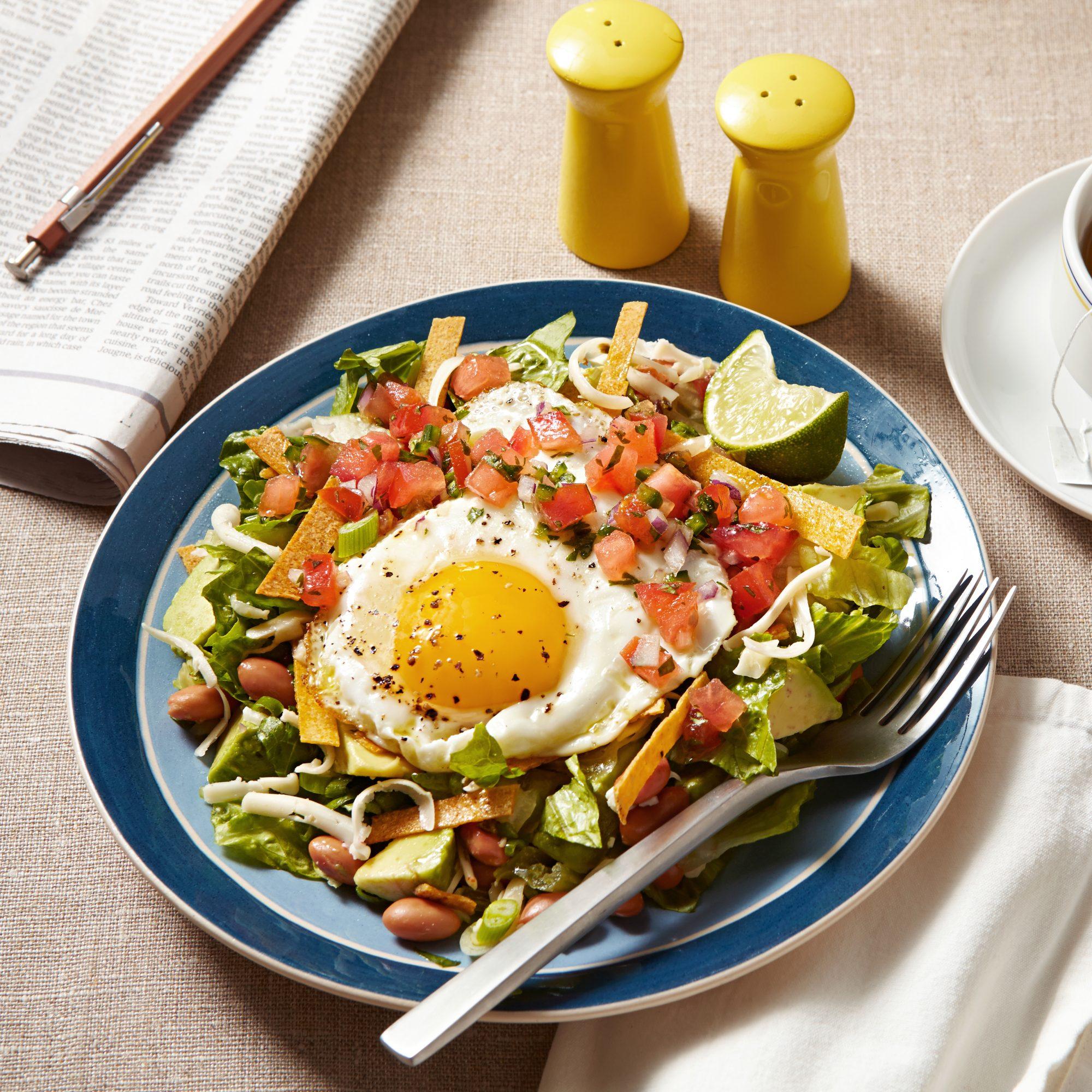 Huevos Ranchero Salad