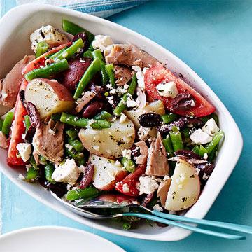 Mediterranean Tuna and Potato Salad