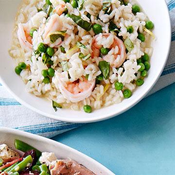Shrimp & Herb Risotto