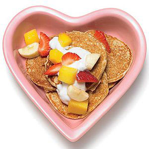 Valentine's Day Sweet Pooch Pancakes