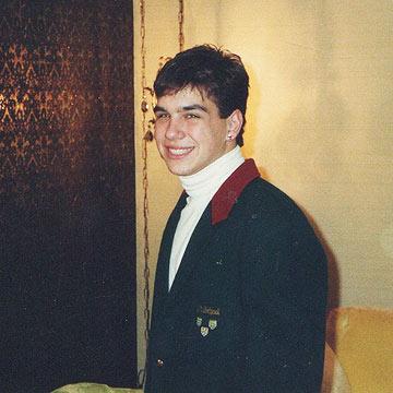 Young Michael Symon