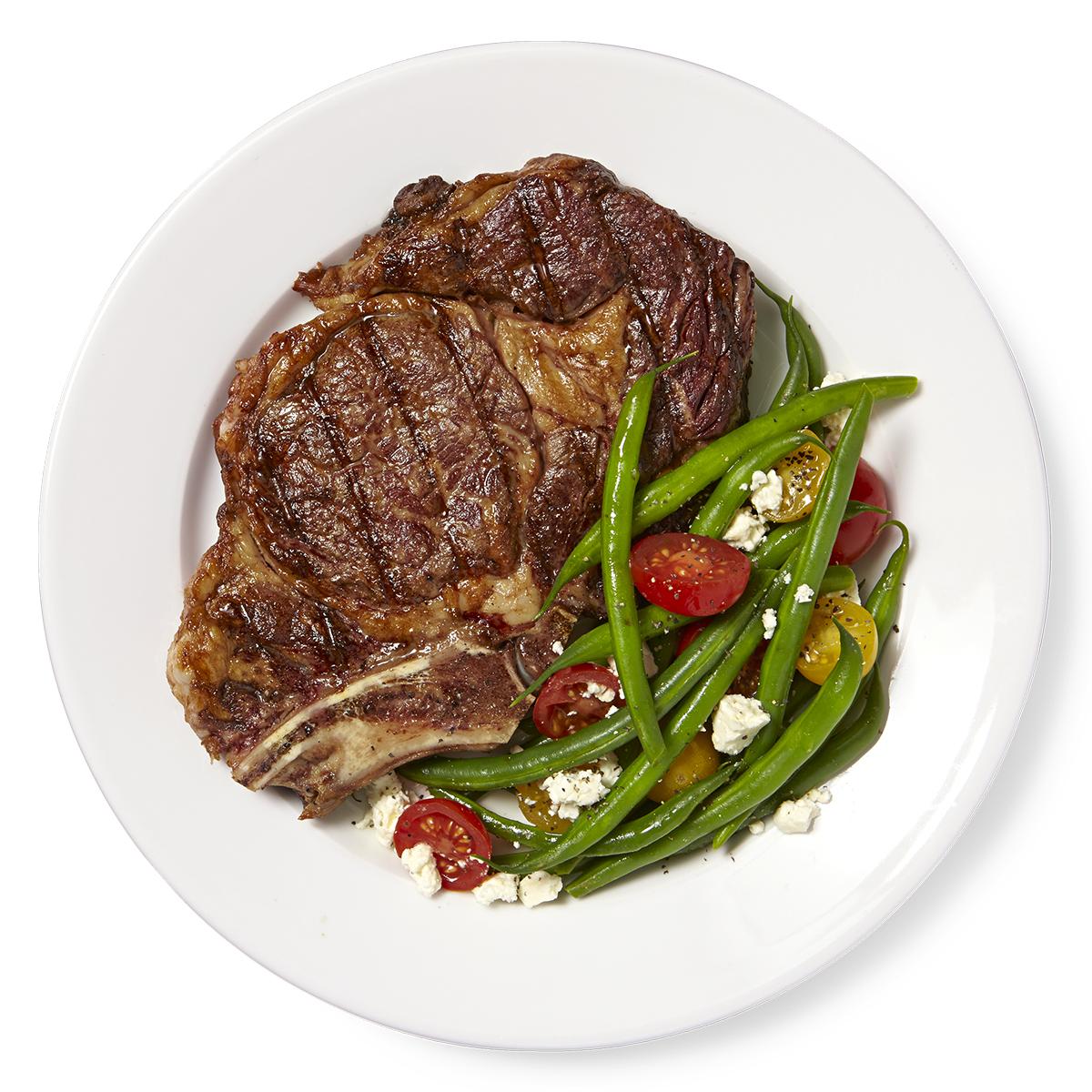 Greek Steak & Green Bean Salad