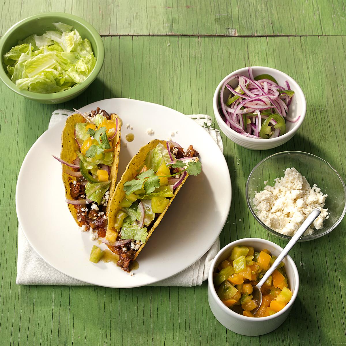 Ground Chicken & Chipotle Hard Tacos