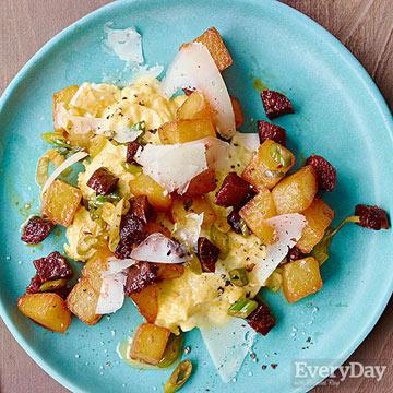 Potato & Chorizo Hash